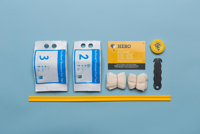 Hero Brace Casting Kit
