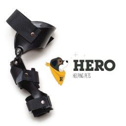 Hero Stifle Brace with Logo